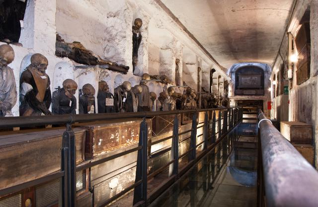 Le Catacombe dei Cappuccini a Palermo