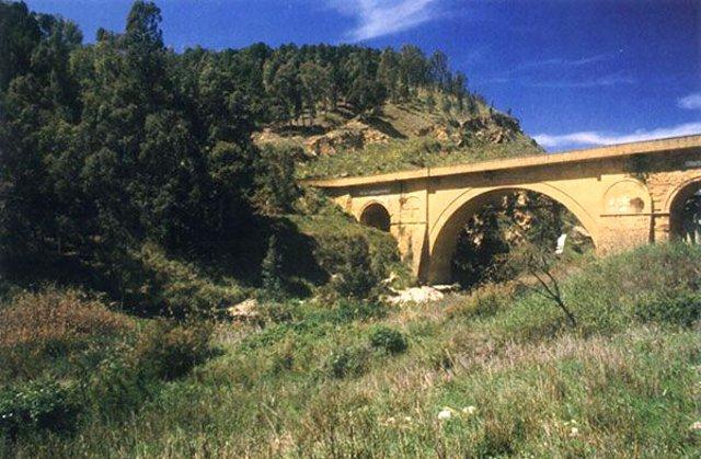 Il ponte Capodarso di Caltanissetta