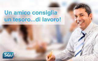 Offerta di lavoro: S4U DataNet seleziona Web Marketing Specialist