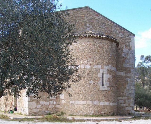 L'Eremo di San Marco che si trova fuori dal centro abitato di Aidone, nella zona Scalazza
