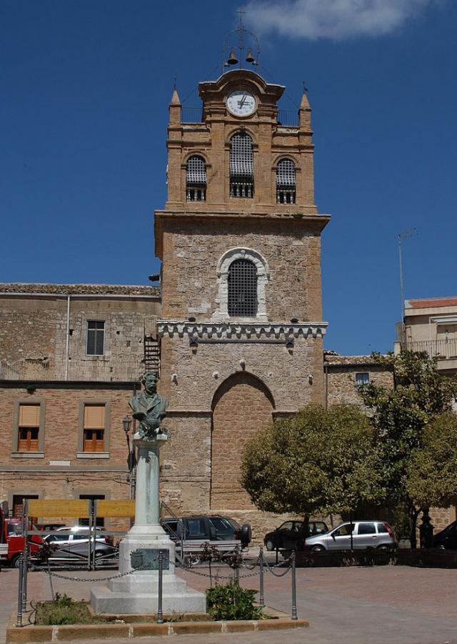 Torre Adelasia, la torre campanaria di Santa Maria la Cava - Aidone (EN)