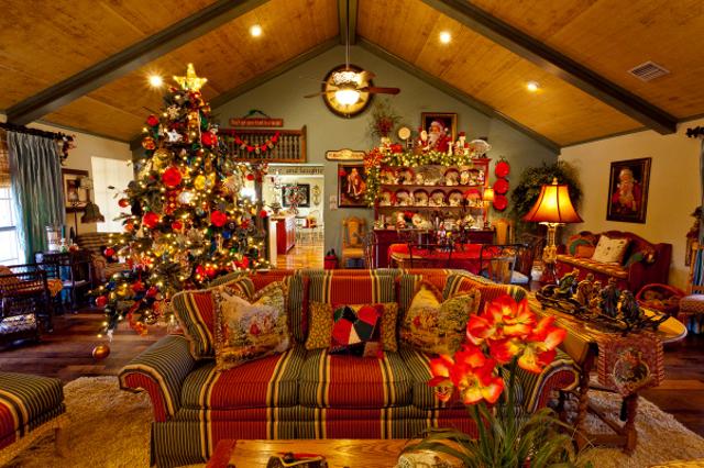 10 consigli per arredare casa a natale anche in sicilia for Arredamento natalizio casa