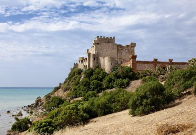 Il castello della Falconara, a Butera