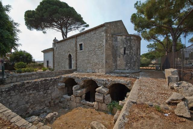 La Basilica di San Nicolò dei Cordari nel parco Archeologico di Neapolis - Siracusa