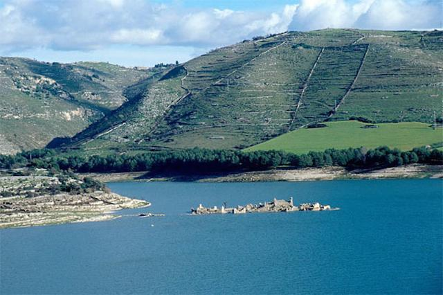 Il lago Santa Rosalia