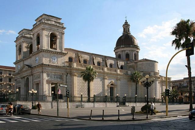 Il Duomo di Giarre, dedicato a Sant'Isidoro Agricola, protettore della città.