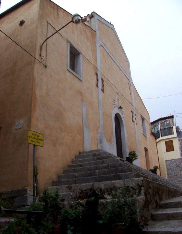 La Chiesa di San Giacomo a Gratteri