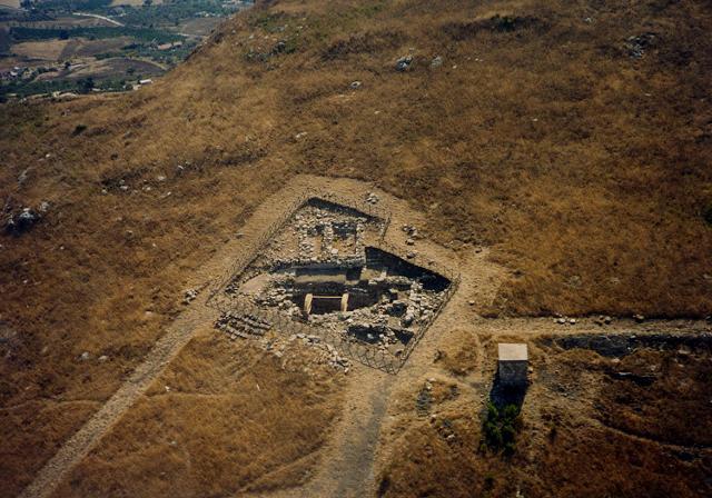 Gli scavi di Makella nella zona della Montagnola a Marineo