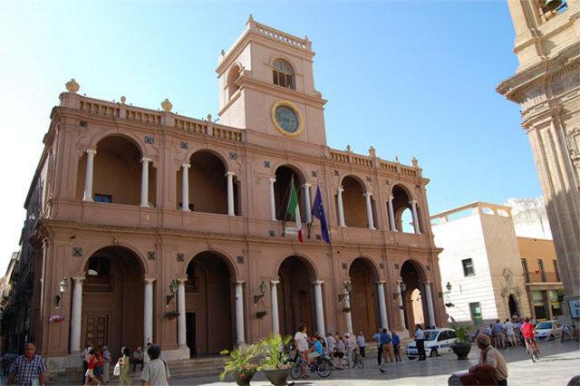 Palazzo VII Aprile sede del consiglio comunale di Marsala