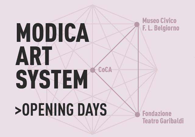 Nasce il progetto ''MAS - Modica Art System''