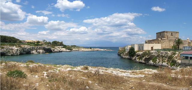 """Il """"Caricatore"""" (il porto) di Brucoli - SR"""