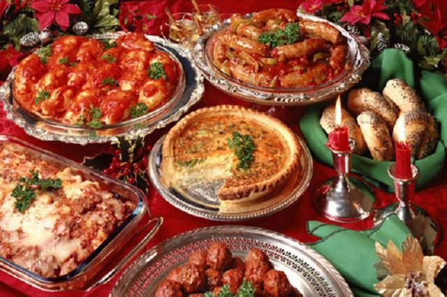 Feste a tavola in famiglia