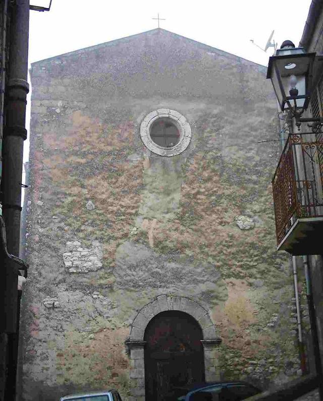 la Chiesa Sant'Antonio Abate di Prizzi