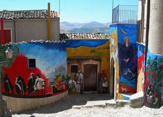 I murales di Prizzi