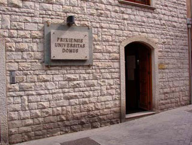 L'ingresso del Museo Archeologico di Prizzi