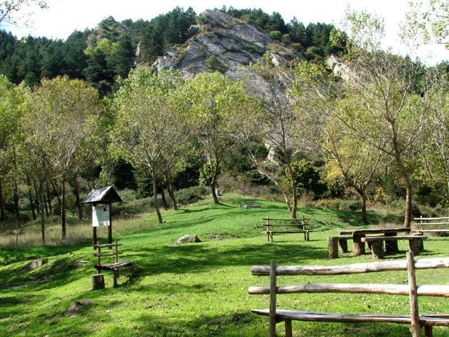 Area attrezzata nella Riserva Naturale di Sambughetti e Campanito