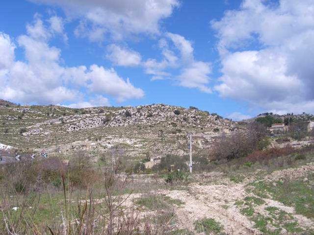 La collina di Sant'Ippolito - Caltagirone