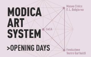 Nasce il progetto MAS - Modica Art System