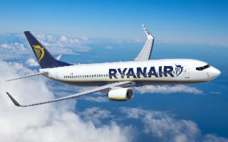 Ryanair, cinque nuove rotte nella Winter da Catania