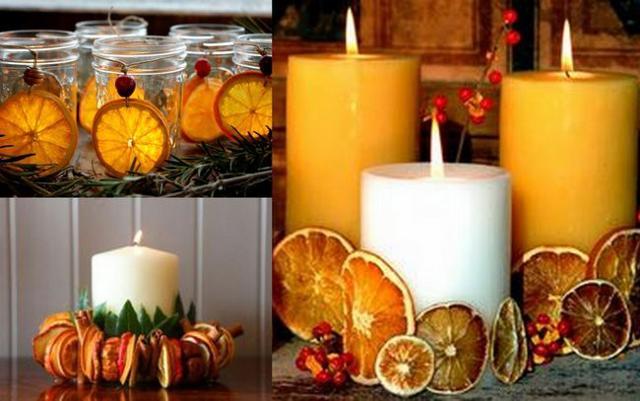 Per decorare una tavola natalizia dal sapore siciliana, gli agrumi possono essere un elemento decorativo da utilizzare...