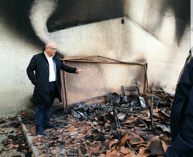 Incendiato a San Fratello il punto informativo del Parco dei Nebrodi