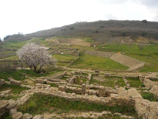 L'area ellenica di Morgantina