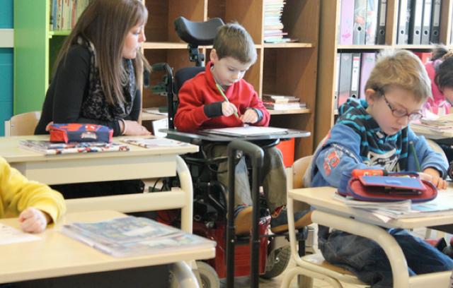In Italia aumentano gli studenti disabili