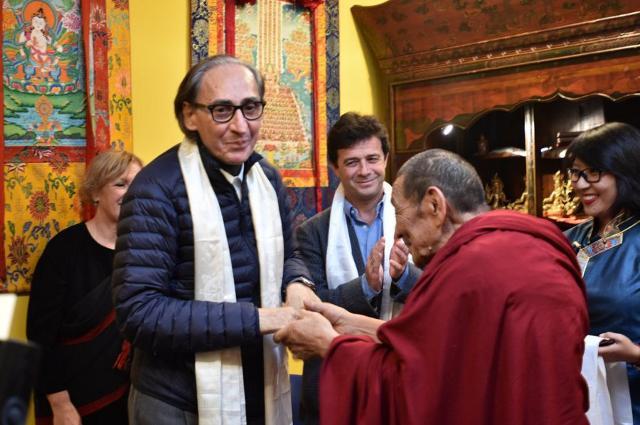 Sulla collina del disonore il centro buddhista Muni Gyana