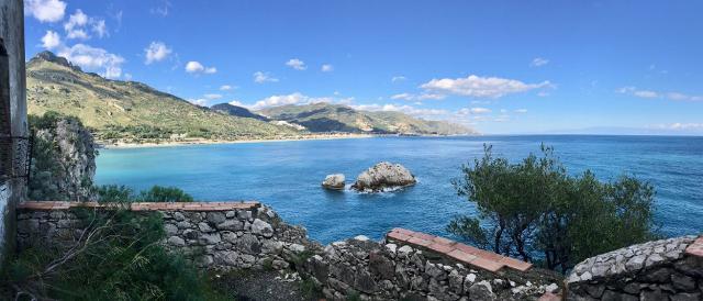 Veduta dalle Rocce di Capo Mazzarò