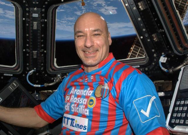 L'astronauta catanese Luca Parmitano