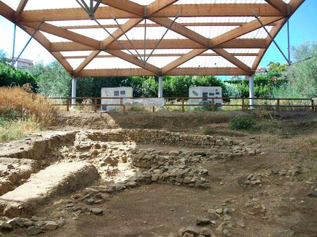 Il villaggio protostorico nelle vicinanze del cimitero comunale di Milazzo