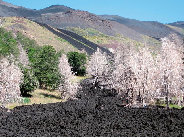 Uno spettacolare panorama del Mongibello - Parco dell'Etna