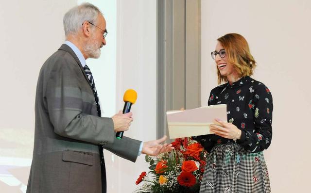 Il Christoph Schelzer Award 2016 a Marta Rovituso