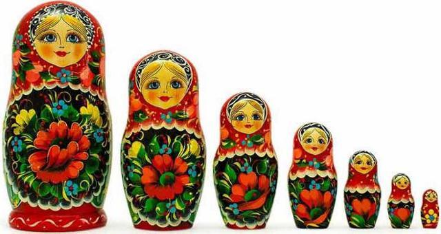 La Babushka russa