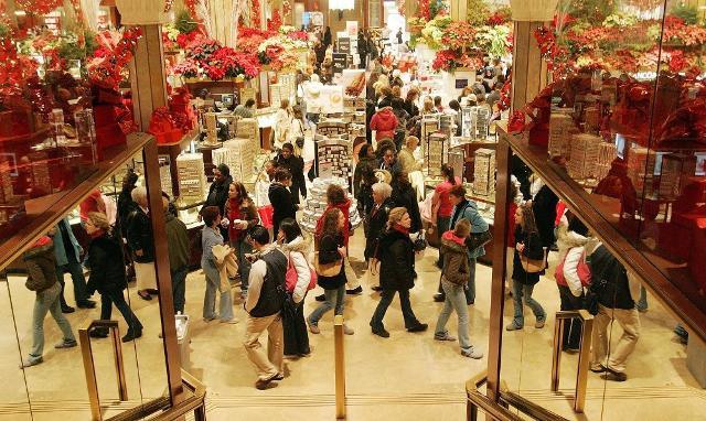 Quanto è costato lo shopping natalizio?