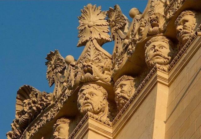 I mascheroni di Palazzo Impellizzeri - Siracusa