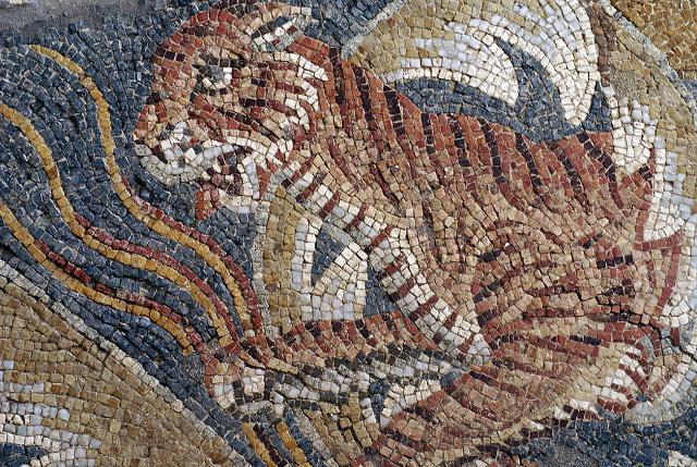 Mosaico della Villa del Tellaro - ph Giovanni from Catania
