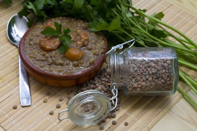 Zuppa di Lenticchie di Ustica con cotechino
