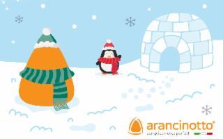 Arancinotto sbarca in Antartide!