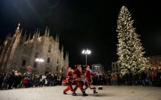 Milano festeggia il Natale con il panettone Fiasconaro
