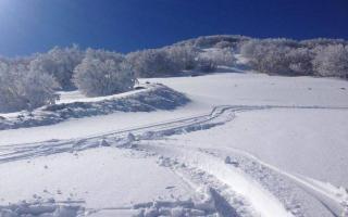 A Piano Battaglia c'è la neve ma manca ancora la stazione sciistica