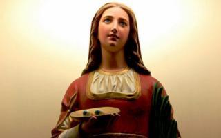 Celebrazioni in onore di Santa Lucia