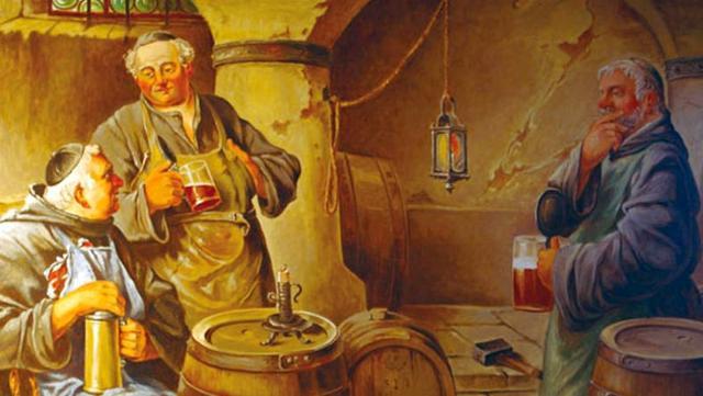 Si deve ai monaci il primo utilizzo del luppolo come aromatizzante al posto della miriade di altre spezie, bacche, piante officinali...