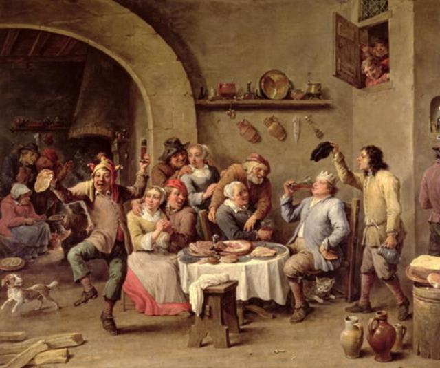 In Inghilterra è velocissima la diffusione delle birrerie e dei pub che già nel 1300 sono migliaia...