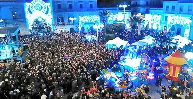 Grande festa in piazza per il carnevale di Avola