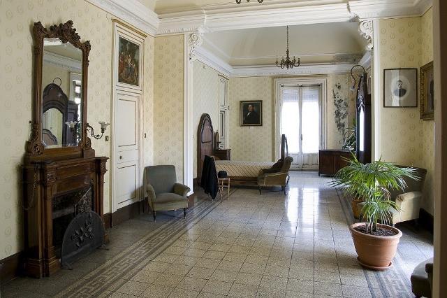 La camera dal letto della Casa-Museo di Giovanni Verga a Catania