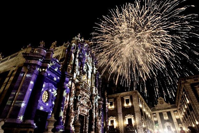 Giochi d'Artificio in onore di Sant'Agata, Catania