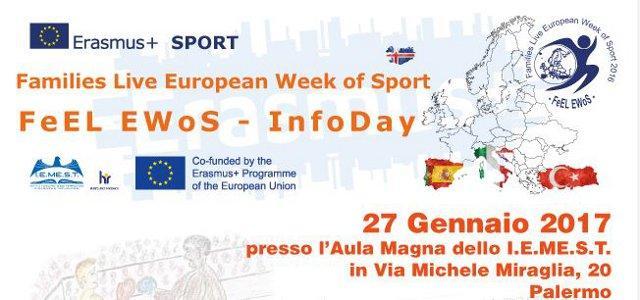 Le Famiglie Vivono la Settimana Europea dello Sport