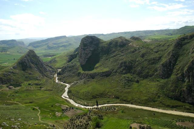 Il fiume Gallo d'Oro