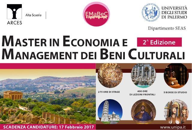 Master in Economia e Management dei Beni Culturali